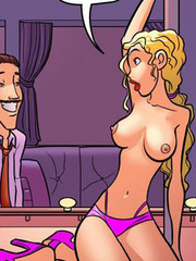 Original adult comics. Oh Richard! You'll - Cartoon Porn Pictures - Picture 2