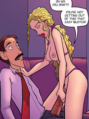 Cartoon porn. Why is your cock out??? - Cartoon Porn Pictures - Picture 3