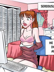 Comics sex. Come on girl! Open wide! - Cartoon Porn Pictures - Picture 3
