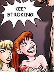 Adult cartoon comics. I'm close! Keep - Cartoon Porn Pictures - Picture 4