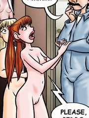 Comic porn pics. I'm wearing her pretty little - Cartoon Porn Pictures - Picture 1
