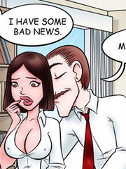 Sex comics. Hot office sex! - Cartoon Porn Pictures - Picture 3