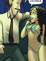 Toon sex comics. Lap dance? I can't.. - Picture 1