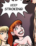 Adult comix. And then he came..in my mouth!