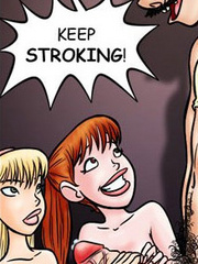 Adult comix. And then he came..in my mouth! - Cartoon Porn Pictures - Picture 1