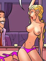 Xxx porn comics. Then let's do it! Now! - Cartoon Porn Pictures - Picture 1