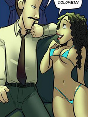 Free adult comics. Kimmy, i want to be inside - Cartoon Porn Pictures - Picture 4