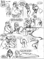 Comic porn galleries. Well move those panties - Cartoon Porn Pictures - Picture 1
