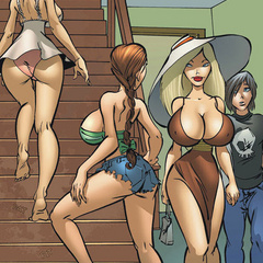 Cartoon sex comics. You love my fuckin' - Cartoon Porn Pictures - Picture 2