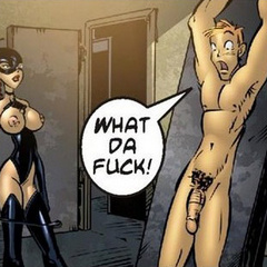 Adult comix. I's s'pose I's can slip it in her - Cartoon Porn Pictures - Picture 5