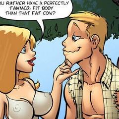 Toon porn comics. Young guy fucked 2 sex bombs - Cartoon Porn Pictures - Picture 1