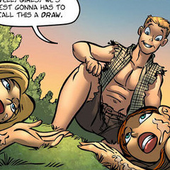 Toon porn comics. Young guy fucked 2 sex bombs - Cartoon Porn Pictures - Picture 5