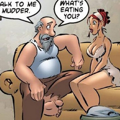 Adult comic. Men playing poker, and may not - Cartoon Porn Pictures - Picture 5