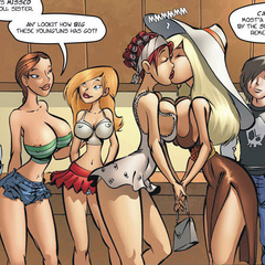 Porn comics. Not Right now,boy. I's gonna go - Cartoon Porn Pictures - Picture 1
