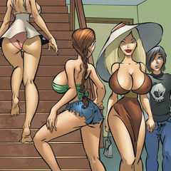 Comic sex gallery. Rita! What is you doin' - Cartoon Porn Pictures - Picture 2