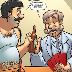 Erotic comics. Older men have conceived to - Cartoon Porn Pictures - Picture 2