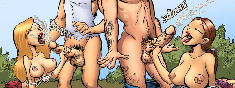 Adult comic art. Git yore ass - Cartoon Porn Pictures - Picture 2