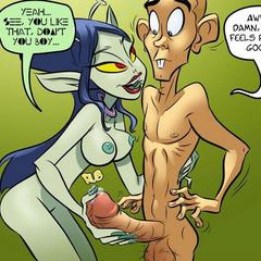 Cartoon adult comics. Luke! Git yore ass back - Cartoon Porn Pictures - Picture 1