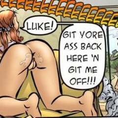 Cartoon adult comics. Luke! Git yore ass back - Cartoon Porn Pictures - Picture 3