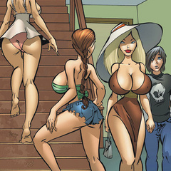 Toon porn comics. That feels so good! Ohh yes! - Cartoon Porn Pictures - Picture 3