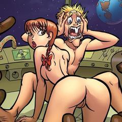 Comic porn pics. Big cock fuking Rita Mae. - Cartoon Porn Pictures - Picture 1