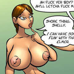 Erotic comix. Cartoon blonde girl have great - Cartoon Porn Pictures - Picture 4