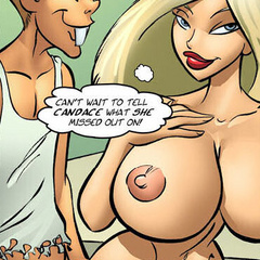 Erotic comix. Cartoon blonde girl have great - Cartoon Porn Pictures - Picture 6