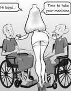Cartoon pictures for adults. ..I saw her pussylips…