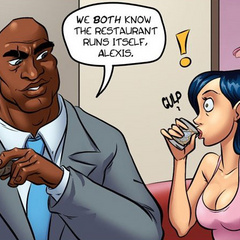 Adult comics cartoon. The big boss wants to - Cartoon Porn Pictures - Picture 2