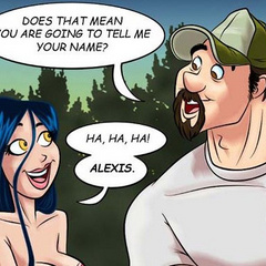 Adult cartoon comic. Girl flirts with her new - Cartoon Porn Pictures - Picture 4