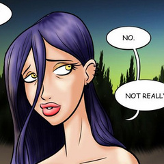 Adult comic toons. Frightened girl wandering - Cartoon Porn Pictures - Picture 5