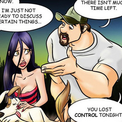 Adult comic toons. Frightened girl wandering - Cartoon Porn Pictures - Picture 6