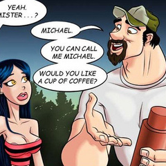 Adult sex comics. The peasant girl fucked - Cartoon Porn Pictures - Picture 5