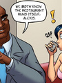 Adult comic toons. Anime girl having a - Picture 1