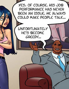 Cartoonsex. Big black dick wants to fuck her ass a…