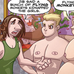 Adult sex comics. The guy wants to fuck her - Cartoon Porn Pictures - Picture 3