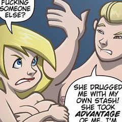 Sexcartoon. You were fucking someone lse? - Cartoon Porn Pictures - Picture 2