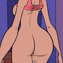 Cartoon sex comics. The way she was bending - Cartoon Porn Pictures - Picture 1