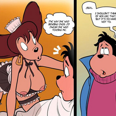 Cartoon sex comics. The way she was bending - Cartoon Porn Pictures - Picture 3