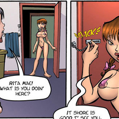 Free erotic comics. Rita Mae will see a big - Cartoon Porn Pictures - Picture 3