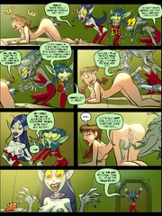 Cartoon adult comics. The aliens have stolen - Cartoon Porn Pictures - Picture 2