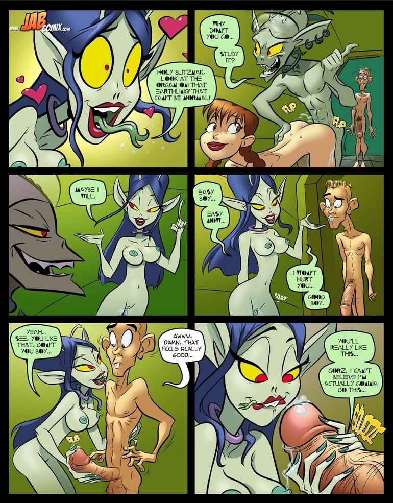 Cartoon porno. Big boobs girls - Cartoon Porn Pictures - Picture 2
