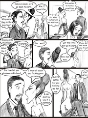 Porn comix. I know all about you fucking your - Cartoon Porn Pictures - Picture 4