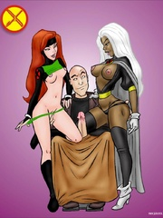 Comic porn. X-men are really horny! - Cartoon Porn Pictures - Picture 1