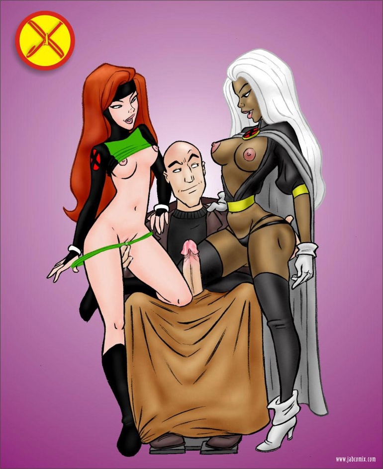 Cartoon Porn X - Comic porn. X-men are really - Cartoon Porn Pictures - Picture 1