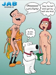 Cartoon sex. Oh Chris! You are so big! - Cartoon Porn Pictures - Picture 2