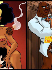 Adult comic stories. Please Mistress, please! - Cartoon Porn Pictures - Picture 3