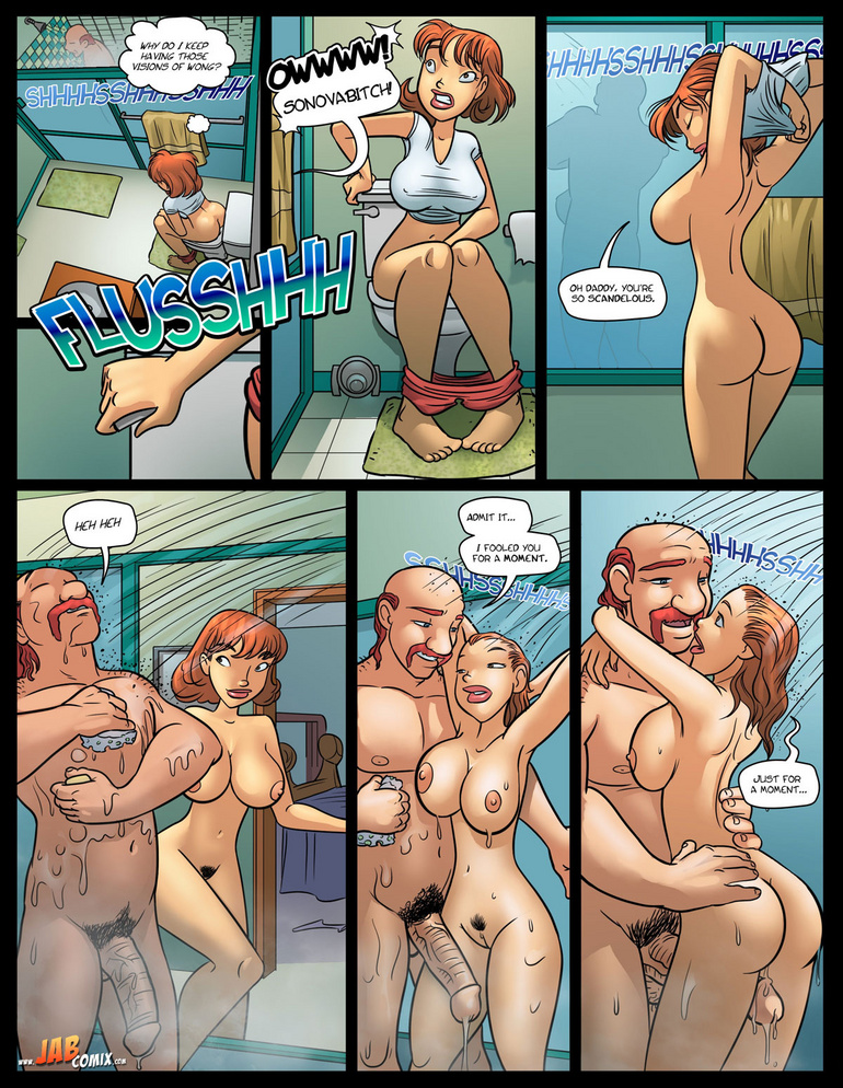 Comics sex. Mmmmm, What a piece - Cartoon Porn Pictures - Picture 1