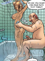 Adult comics stories. Horny redhead girl - Picture 4