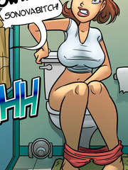 Comic for adults. Sex bomb that wants to fuck - Cartoon Porn Pictures - Picture 3